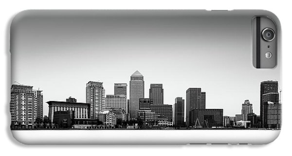 Canary Wharf Skyline IPhone 6 Plus Case by Ivo Kerssemakers