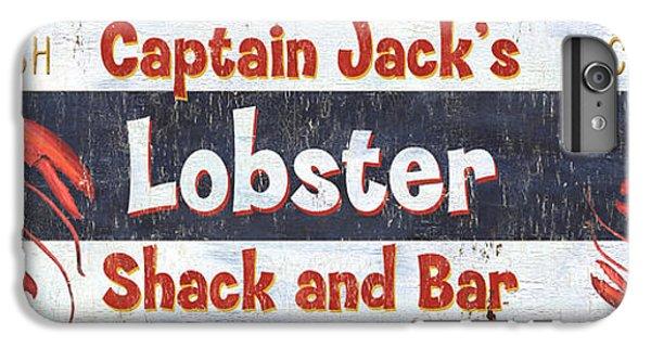 Catfish iPhone 6 Plus Case - Captain Jack's Lobster Shack by Debbie DeWitt
