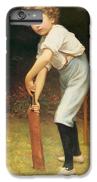 Cricket iPhone 6 Plus Case - Captain Of The Eleven by Philip Hermogenes Calderon