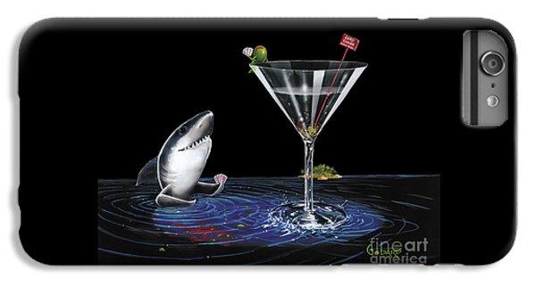 Nurse Shark iPhone 6 Plus Case - Card Shark by Michael Godard