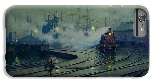 Cardiff Docks IPhone 6 Plus Case by Lionel Walden