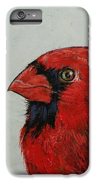 Cardinal IPhone 6 Plus Case by Michael Creese