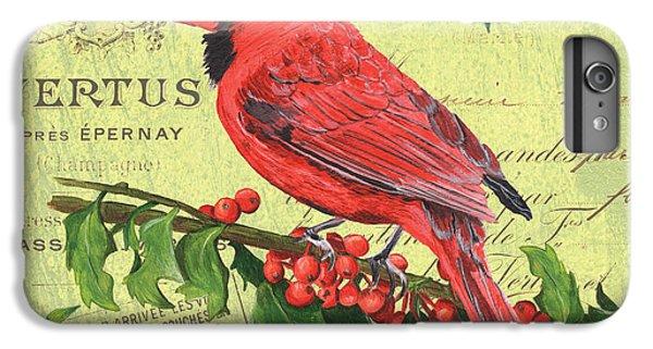 Cardinal iPhone 6 Plus Case - Cardinal Peace by Debbie DeWitt