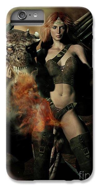 Careful He Burns IPhone 6 Plus Case by Shanina Conway