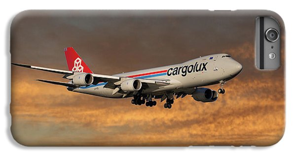 Jet iPhone 6 Plus Case - Cargolux Boeing 747-8r7 3 by Smart Aviation