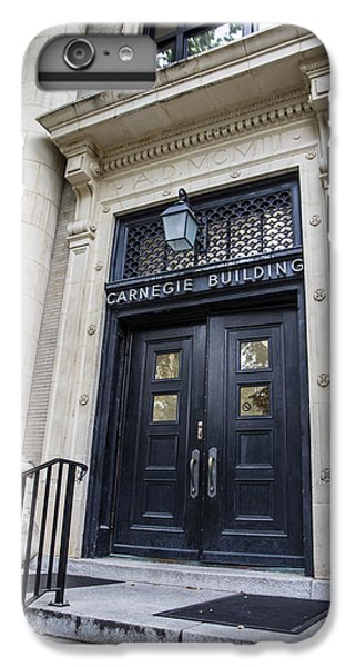 Carnegie Building Penn State  IPhone 6 Plus Case by John McGraw