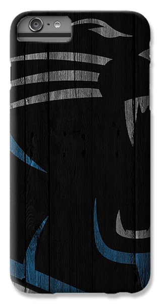 Caroilina Panthers Wood Fence IPhone 6 Plus Case
