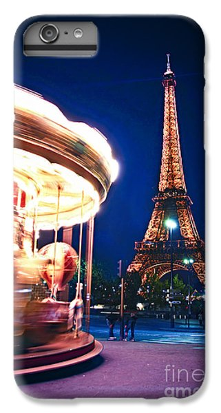 Carousel And Eiffel Tower IPhone 6 Plus Case
