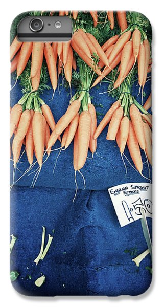Carrots At The Market IPhone 6 Plus Case