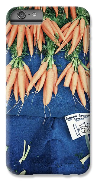 Carrots At The Market IPhone 6 Plus Case by Tom Gowanlock