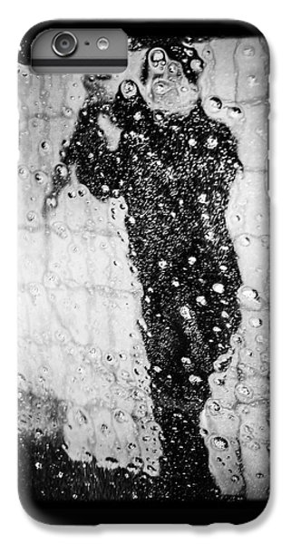 Cool iPhone 6 Plus Case - Carwash Cool Black And White Abstract by Matthias Hauser