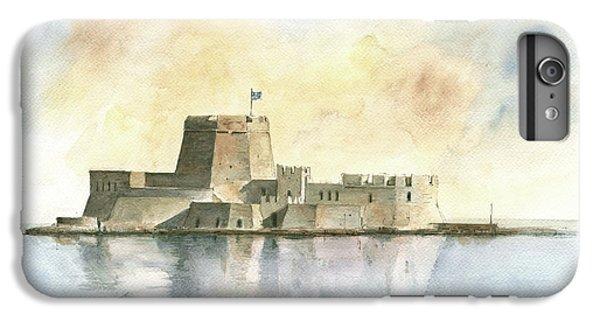 Castle Of Bourtzi In Nafplio IPhone 6 Plus Case by Juan Bosco
