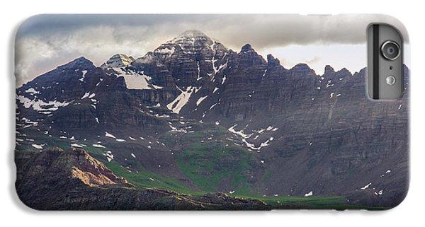 IPhone 6 Plus Case featuring the photograph Castle Peak by Aaron Spong
