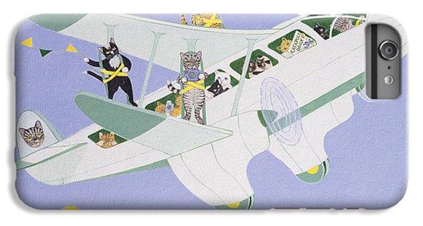 Cat Air Show IPhone 6 Plus Case by Pat Scott