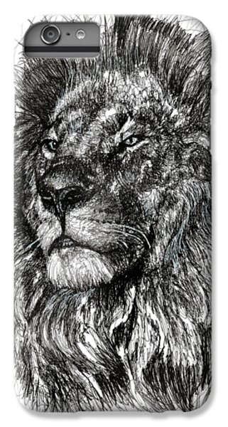 Cecil The Lion IPhone 6 Plus Case by Michael Volpicelli