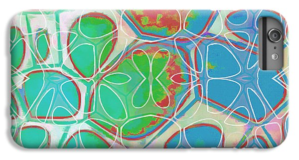 Decorative iPhone 6 Plus Case - Cell Abstract 10 by Edward Fielding