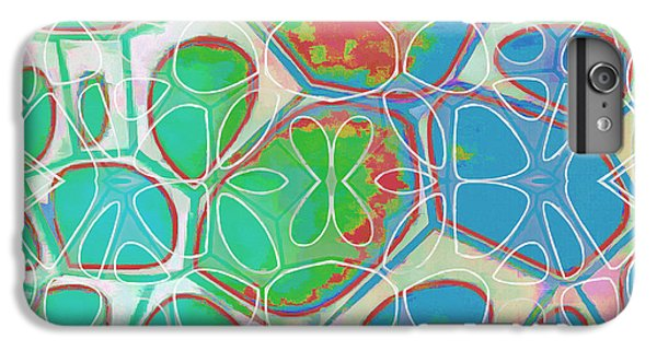 Detail iPhone 6 Plus Case - Cell Abstract 10 by Edward Fielding