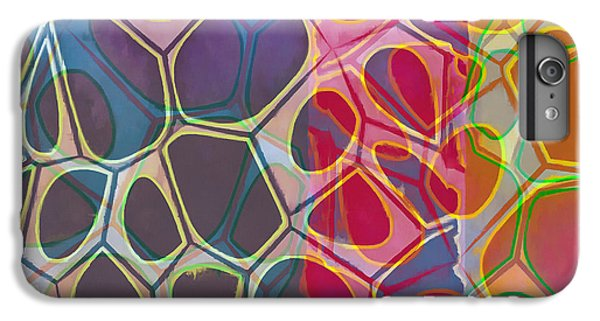 Decorative iPhone 6 Plus Case - Cell Abstract 11 by Edward Fielding
