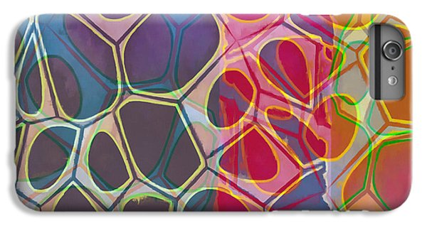 Detail iPhone 6 Plus Case - Cell Abstract 11 by Edward Fielding