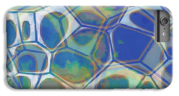 Decorative iPhone 6 Plus Case - Cell Abstract 13 by Edward Fielding