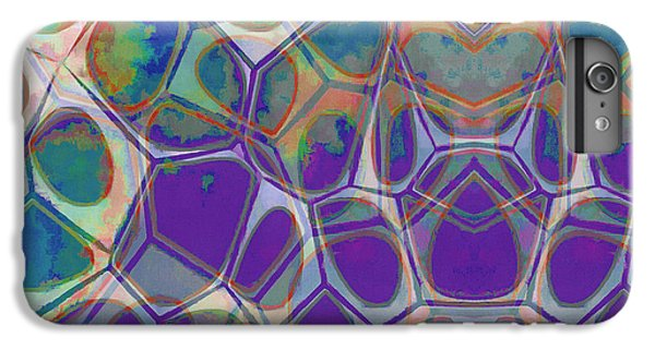 Decorative iPhone 6 Plus Case - Cell Abstract 17 by Edward Fielding