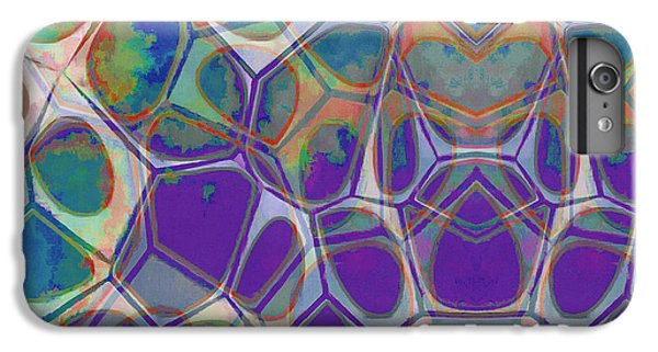 Detail iPhone 6 Plus Case - Cell Abstract 17 by Edward Fielding