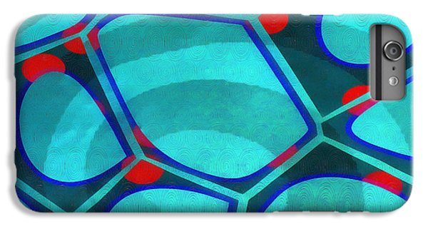 Decorative iPhone 6 Plus Case - Cell Abstract 6a by Edward Fielding