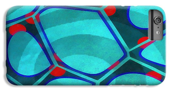 Detail iPhone 6 Plus Case - Cell Abstract 6a by Edward Fielding
