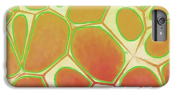 Decorative iPhone 6 Plus Case - Cells Abstract Five by Edward Fielding
