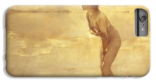 Nudes iPhone 6 Plus Case - Chabas, September Morn by Paul Chabas