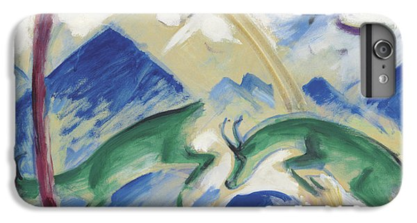 Chamois IPhone 6 Plus Case by Franz Marc
