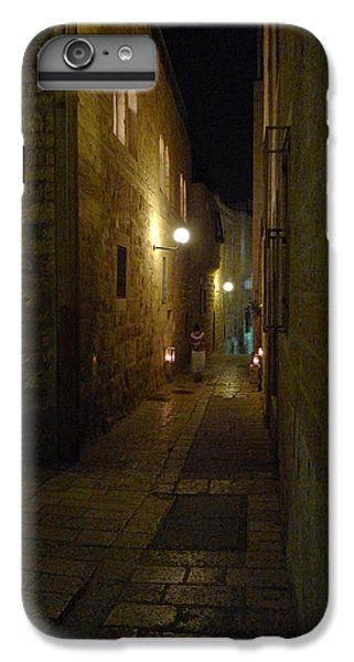 IPhone 6 Plus Case featuring the photograph Chanukah At The Old City Of Jerusalem by Dubi Roman