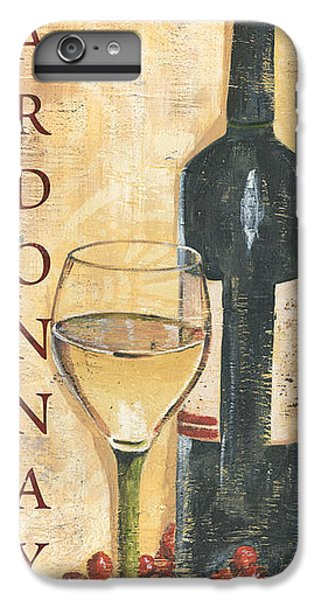 Wine iPhone 6 Plus Case - Chardonnay Wine And Grapes by Debbie DeWitt