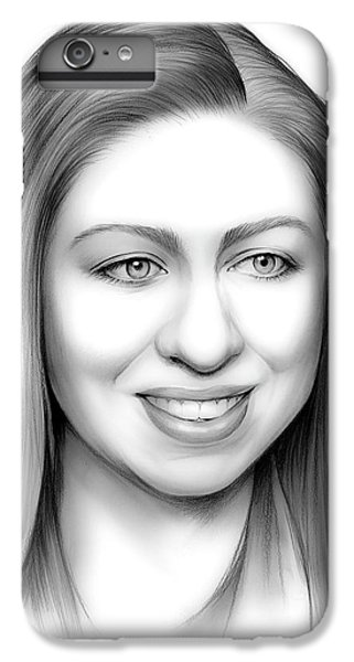Chelsea Clinton IPhone 6 Plus Case by Greg Joens