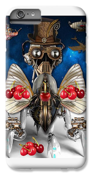 Cherry Robot 1 Art IPhone 6 Plus Case