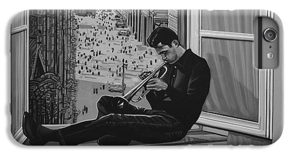 Music iPhone 6 Plus Case - Chet Baker by Paul Meijering