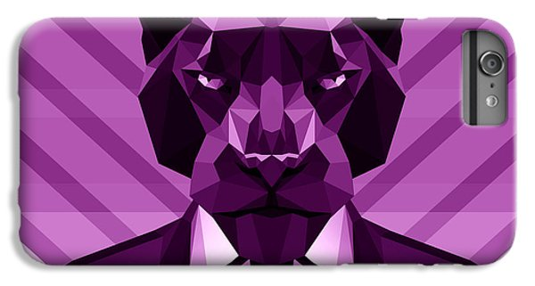 Chevron Panther IPhone 6 Plus Case by Gallini Design