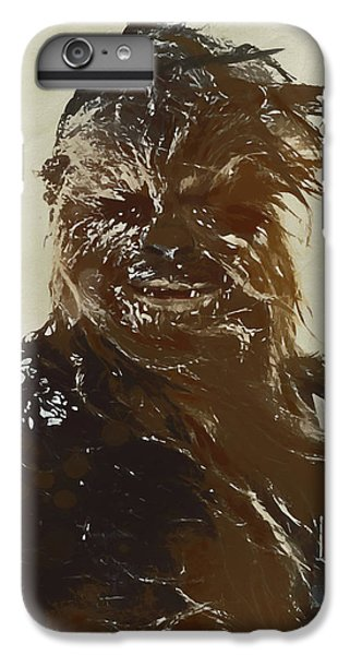 Han Solo iPhone 6 Plus Case - Chewie by Dan Sproul