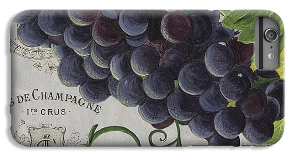 Wine iPhone 6 Plus Case - Vins De Champagne 2 by Debbie DeWitt