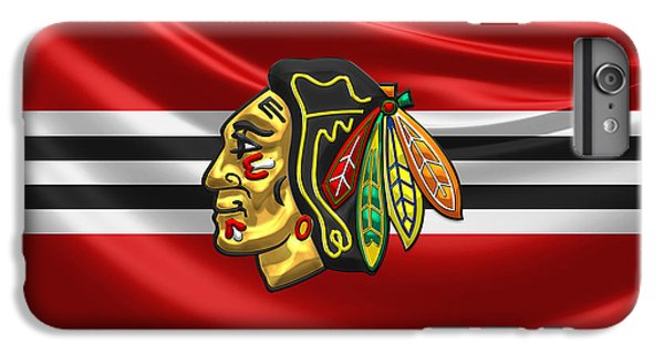 Sport iPhone 6 Plus Case - Chicago Blackhawks by Serge Averbukh