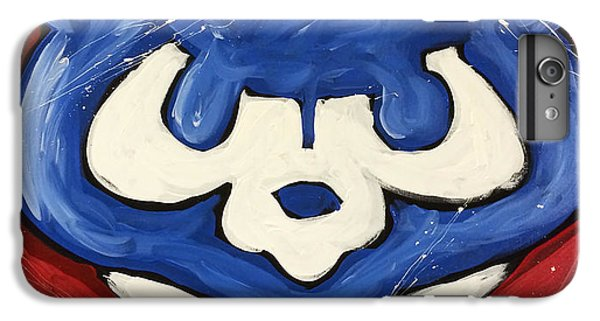 Chicago Cubs IPhone 6 Plus Case by Elliott From