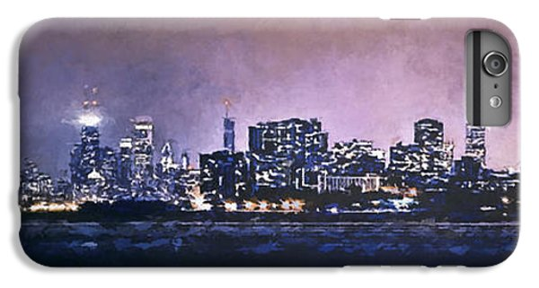 Chicago Skyline From Evanston IPhone 6 Plus Case by Scott Norris
