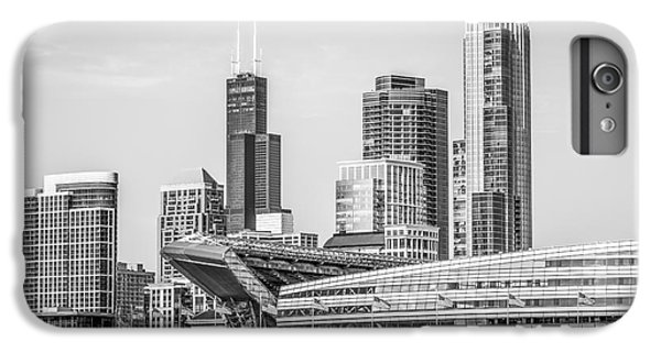 Chicago Skyline With Soldier Field And Willis Tower  IPhone 6 Plus Case
