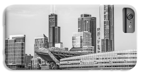 Chicago Skyline With Soldier Field And Willis Tower  IPhone 6 Plus Case by Paul Velgos
