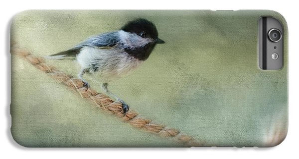 Chickadee At The Shore IPhone 6 Plus Case