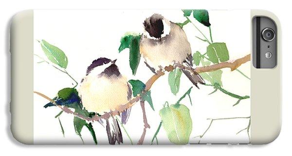 Chickadees IPhone 6 Plus Case