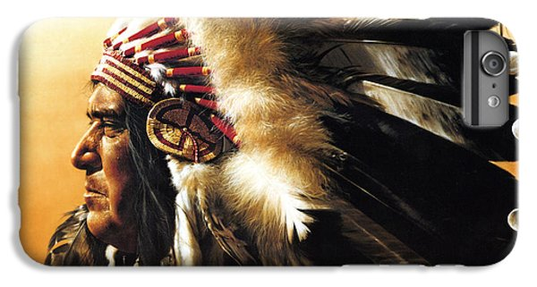 Chief IPhone 6 Plus Case by Greg Olsen