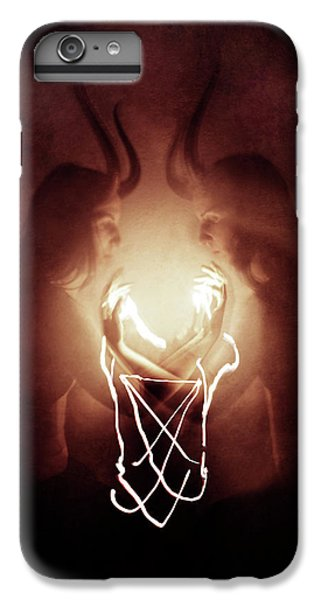 Magician iPhone 6 Plus Case - Children Of Fire by Cambion Art