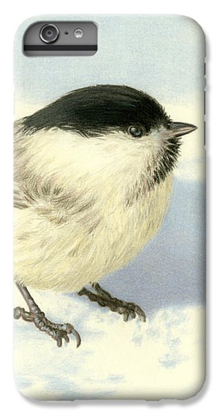 Chickadee iPhone 6 Plus Case - Chilly Chickadee by Sarah Batalka