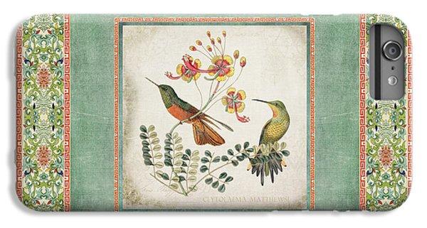 Chinoiserie Vintage Hummingbirds N Flowers 1 IPhone 6 Plus Case